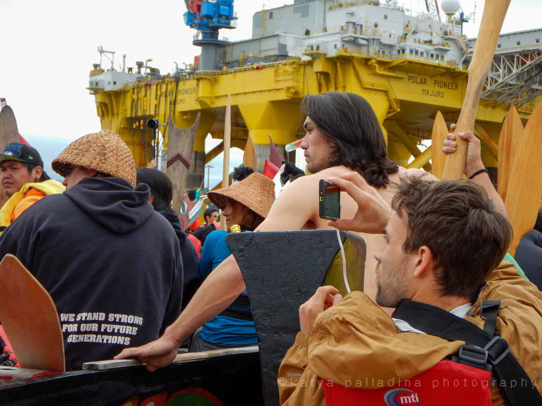 ShellNo Paddle in Seattle 05-16-15